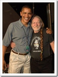 Obama Willie Farm Aid 2005