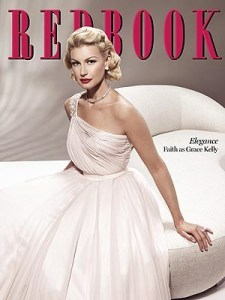 Faith Hill photo shoot for May issue of Redbook magazine