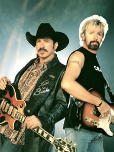 Brooks & Dunn Milestone Award and All-Star Tribute & their new web site design