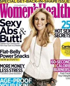 """Carrie Underwood on October cover of Women's Health – and a little about """"Soul Surfer"""""""