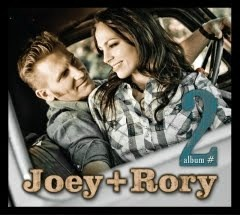 "Joey + Rory ""Album No. 2"" release date Sept. 14 – your chance to win a copy starts right now"