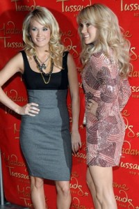 Taylor Swift joins Carrie Underwood and other famous folks…in New York wax museum
