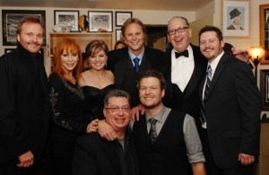 Blake, Reba and Kelly Clarkson join record industry executives at CMA after party