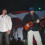 Toby Keith joins Nick Nicholson on stage New Year's Eve