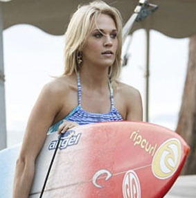 "New trailer for ""Soul Surfer"" with AnnaSophia Robb, Dennis Quaid, Helen Hunt and Carrie Underwood"