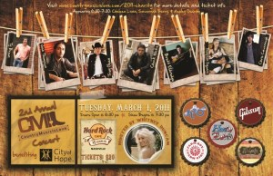 Tickets still available for CMIL City of Hope benefit show, Tuesday,March 1