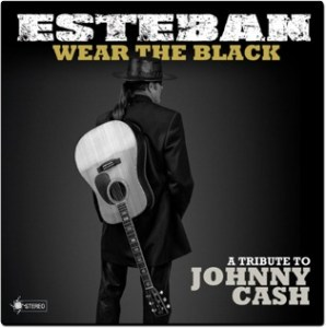 "CD Review and Contest: Spanish Guitarist, Esteban, Releases Country-Crossover with ""Wear the Black–A Tribute to Johnny Cash"""