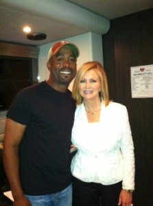 Darius Rucker takes time from CBS taping for visit with Congresswoman Marsha Blackburn