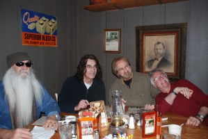 A visit with The Oak Ridge Boys in Knoxville, Tenn.