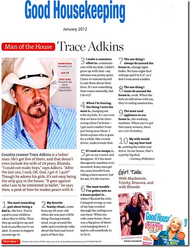 Good Housekeeping Jan 2012