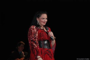 Crystal Gayle performs in Greeneville, Tenn., before heading off to Skegness, United Kingdom