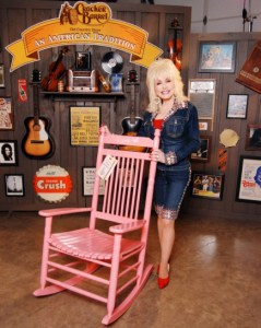 New Dolly Parton DVD/CD available April 2, 2012, at Cracker Barrel