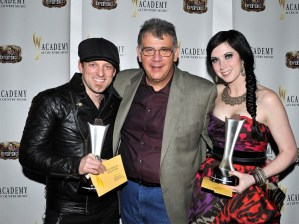 Thompson Square wins 'Vocal Duo of the Year' at the 47th annual Academy of Country Music Awards