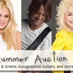 Musicians On Call Nashville Auction Featuring Items from Country's Hottest Stars