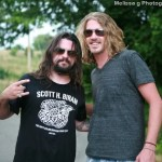 "Bucky Covington and Shooter Jennings film music video for ""Drinking Side of Country"""