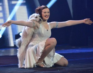Ashleigh & Pudsey–it's not 'country' but it's great
