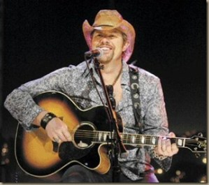"Toby Keith's new video, ""I Like Girls That Drink Beer"""