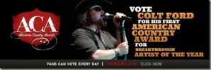 ACA Nominations include first for Colt Ford