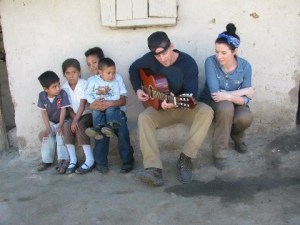 Thompson Square meet the child they sponsor through Childfund International