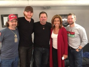 Today Show's Hota Kotb Attends Craig Morgan Show in NYC