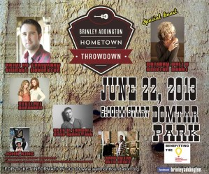 Inaugural Brinley Addington Hometown Throwdown–June 22, 2013