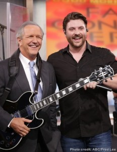 Chris Young appears on Good Morning America