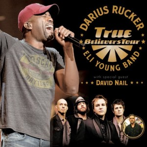 Darius Rucker Announces 2014 True Believers Tour Featuring Eli Young Band and Special Guest David Nail