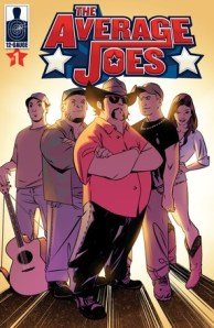 """""""The Average Joes"""" Full Color Comic Book Featuring Colt Ford and Friends Coming July 1, 2014"""