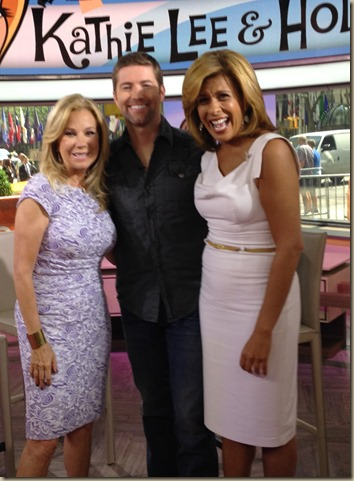 Josh Turner Kathie Lee Gifford Hoda Kotb photo