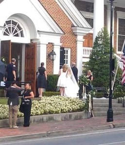 Kimberly Perry and Texas Rangers catcher J.P. Arencibia married in Greeneville, Tenn.