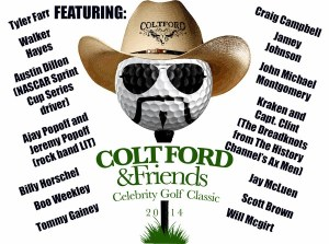 Colt Ford & Friends Celebrity Golf Classic Set for September 15, 2014 at Chateau 'Elan