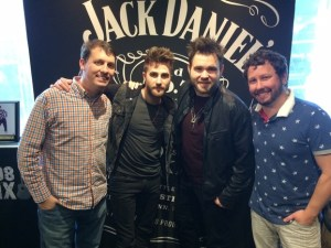 The Swon Brothers visit with WSIX hosts Tige and Daniel
