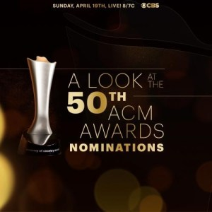 50th ACM Awards Nominees