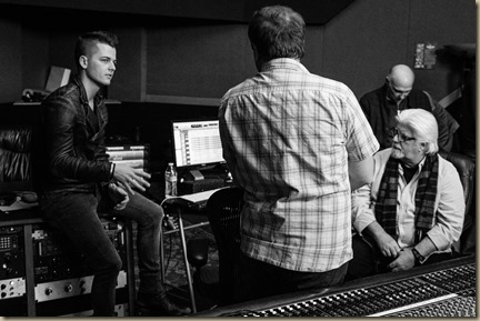 Chase Bryant & michael McDonald Consulting with producer