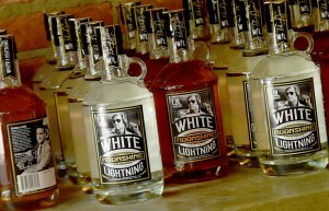 George Jones Charts–with White Lightning Moonshine!