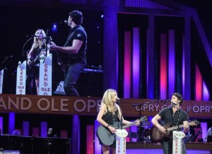 Haley & Michaels celebrate Grand Ole Opry debut