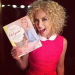 Little Big Town's Kimberly Schlapman offering kitchenware at Cracker Barrel