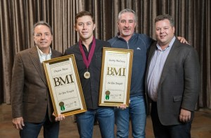 Scotty McCreery wasn't at the BMI awards, but accepted his award one month later