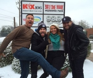 """There's """"SNOW"""" Stopping Them!!! The Swon Brothers have a little fun in the snow"""
