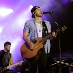 Chase Rice performs for fans and military around the world in 17 days