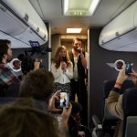 Chris Young and Cassadee Pope take flight in Southwest Airlines' Live at 35 performance video clip