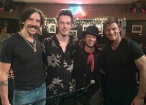 ABC Nashville star Chris Carmack and, Travis Meadows, Sam Palladio and Phoenix Mendoza perform to sold out crowd