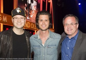 Steve Moakler tops release week with Opry debut