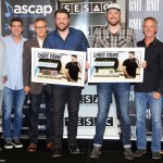 "Chris Young and Cassadee Pope celebrate chart-topping track ""Think of You"""