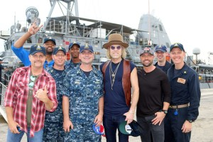 "Big & Rich And CMT Joins Armed Forces Entertainment For First-Ever ""Hot 20 Countdown"" Specials From Bahrain Military Base"