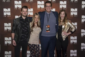 Olivia Lane brought holiday cheer to NASH FM's very country Christmas bash in Detroit