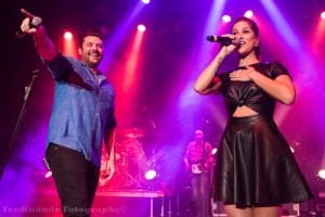 "Chris Young and Cassadee Pope react to Grammy nomination for ""Think of You"""