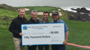 Colt Ford Earns $50K For St. Jude Children's Research Hospital® at AT&T Pebble Beach Pro-Am Golf Tournament