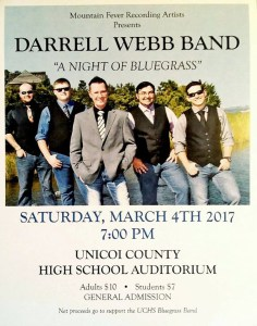 Darrell Webb Band to perform at local high school