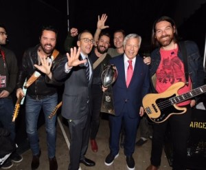 Old Dominion plays Patriots' official Super Bowl after-party